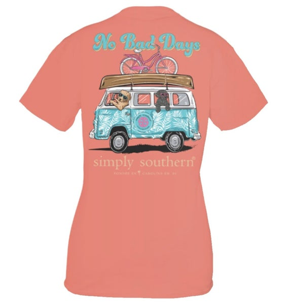 No Bad Days Simply Southern Tee