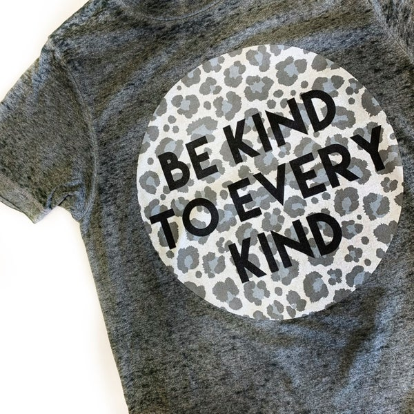 Be Kind Burn Out Tee