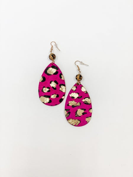 The Laurie Earrings Pink
