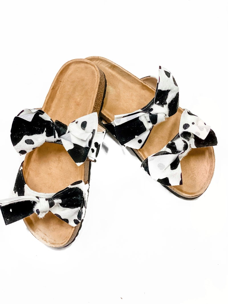 The Sophie Sandals Cow