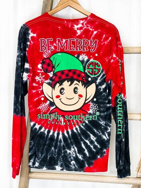 Be Merry Elf Tee
