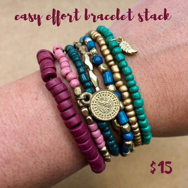 Easy Effort Bracelet Stack