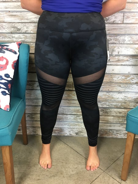 Can't See Me Camo Leggings FINAL SALE