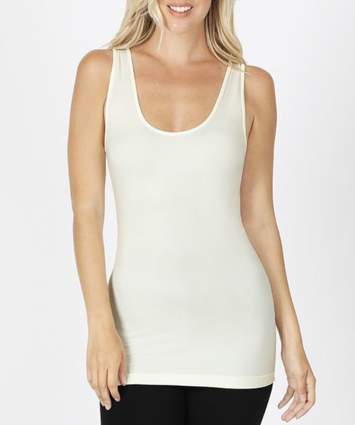 Dreaming All Day Tank Plus Ivory *Final Sale*