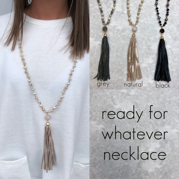 Ready For Whatever Necklace
