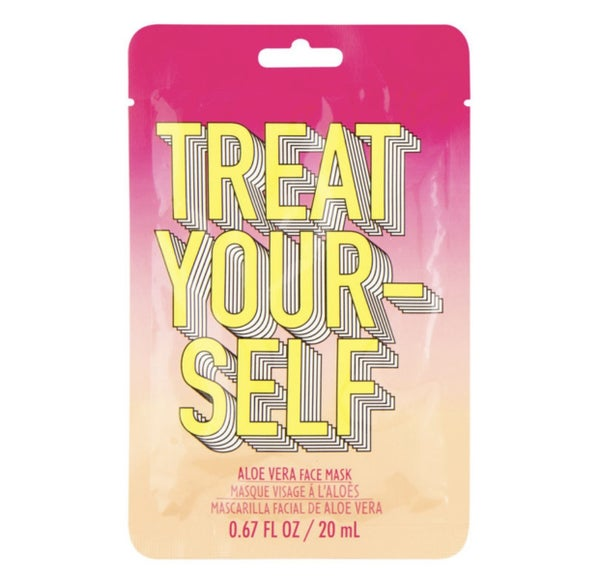Treat Yourself Aloe Vera Face Mask