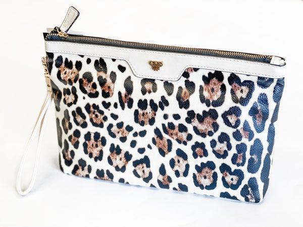 Light Up Leopard Makeup Bag