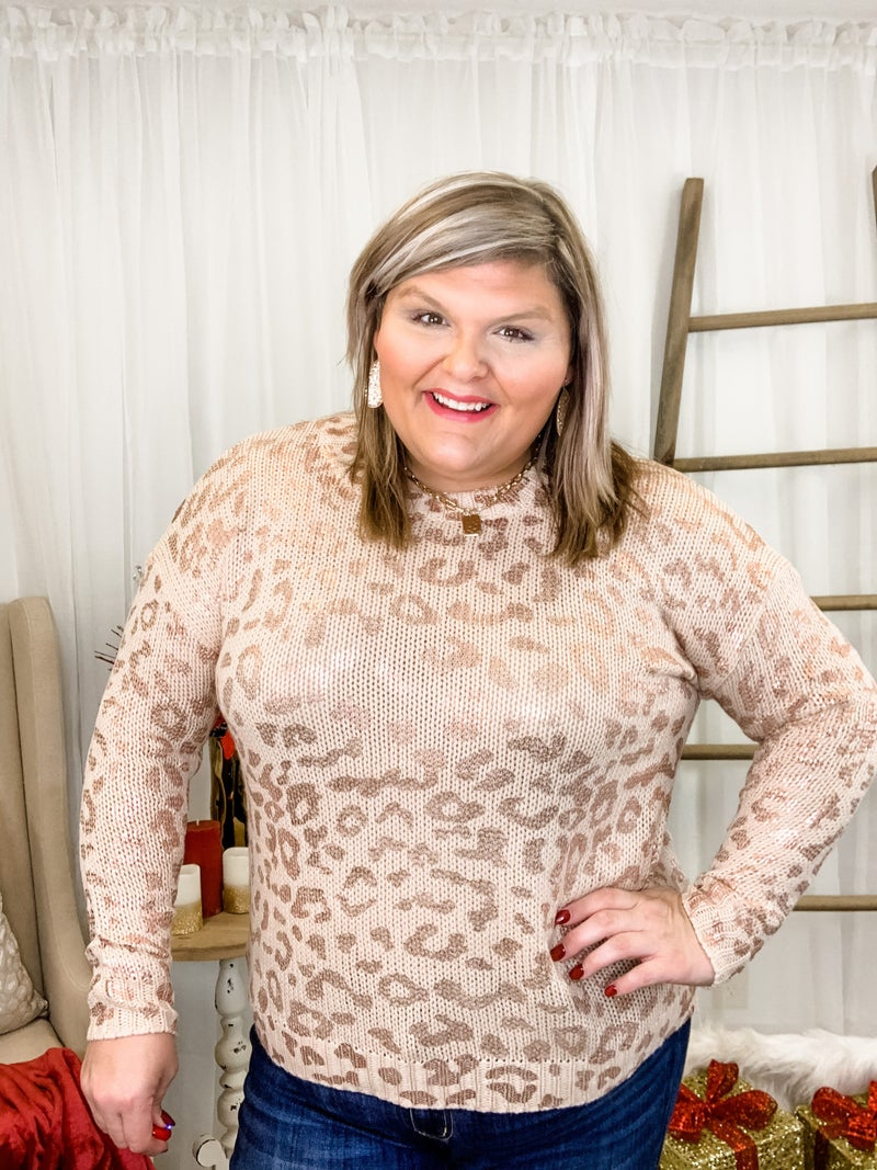 Sassy Night Out Sweater Plus *Final Sale*