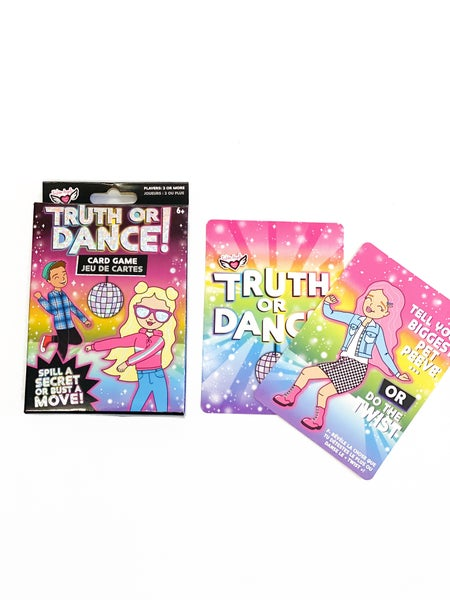 Truth Or Dance Card Game