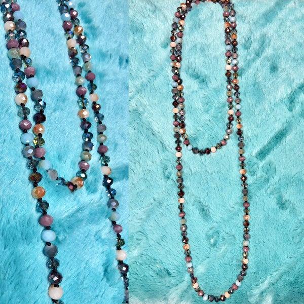 Multi Color Wrap Necklace FINAL SALE