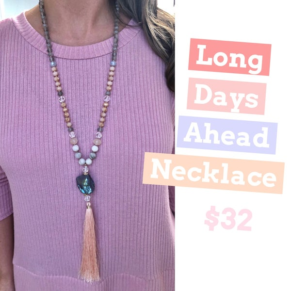 Long Days Ahead Necklace