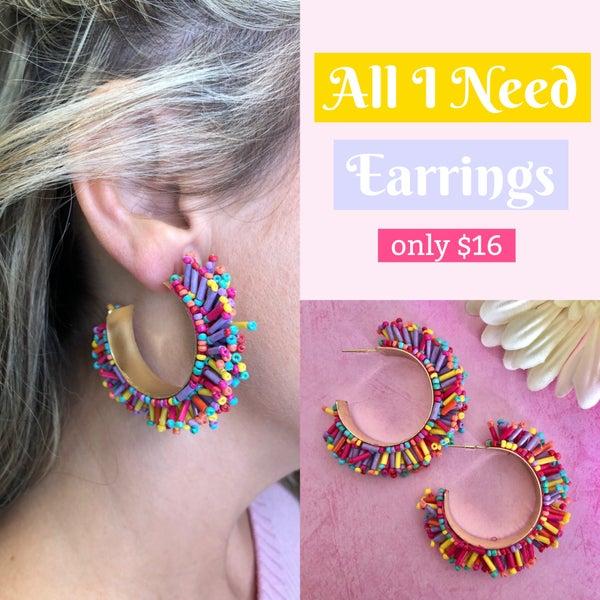 All I Need Earrings