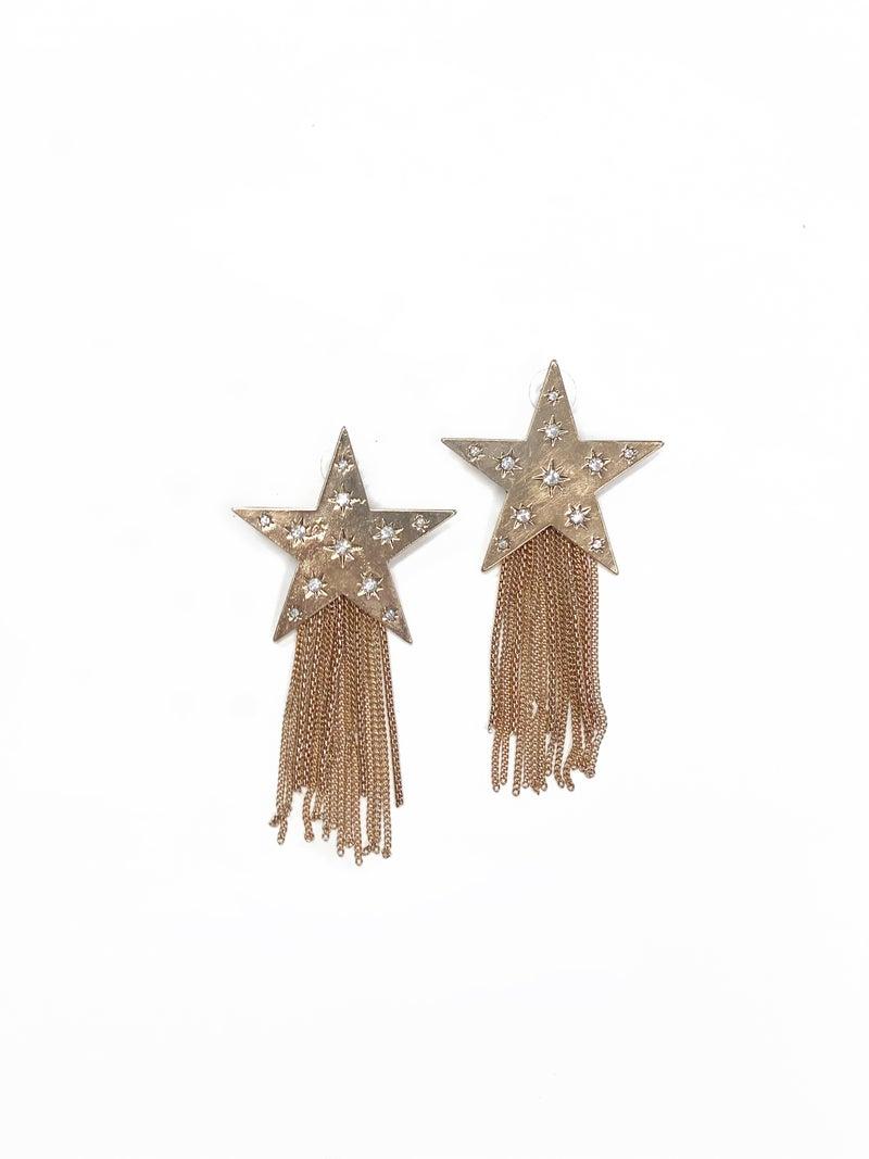 The Julia Earrings Gold