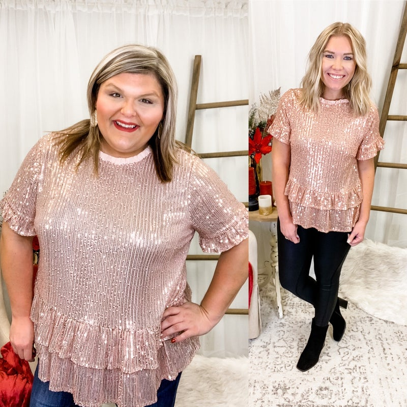 Shimmer The Day Away Top