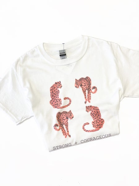 Strong & Courageous Tee