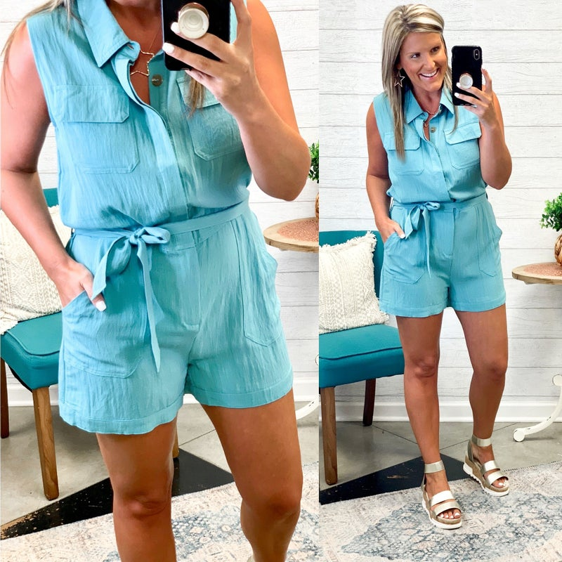 More Than Mine Romper *Final Sale*
