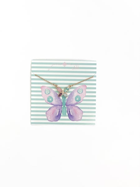 The Butterfly Necklace - Kids