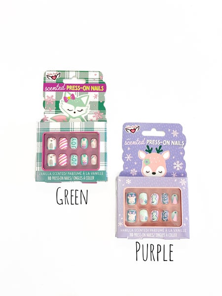 Scented Press On Nails