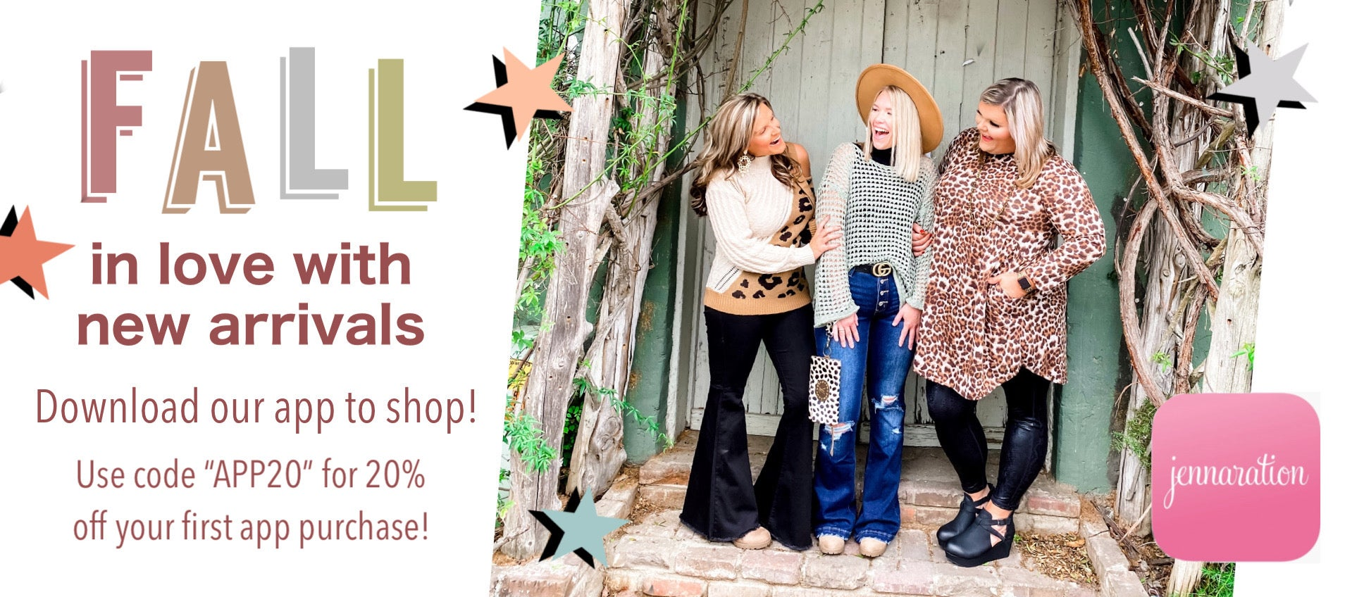 Fall In Love With New Arrivals!