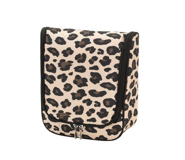 Wild Side Leopard Hanging Travel Case