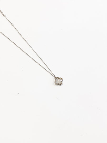The Mady Necklace Silver