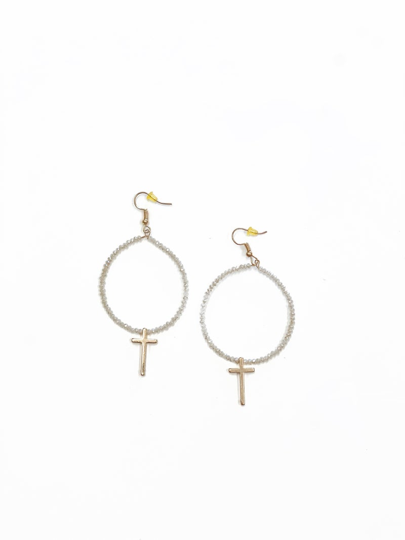 The Kelly Earrings Natural