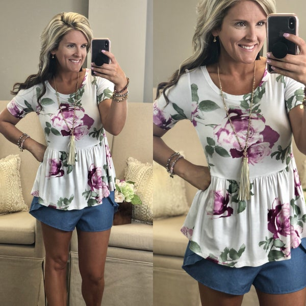After Thought Floral Top
