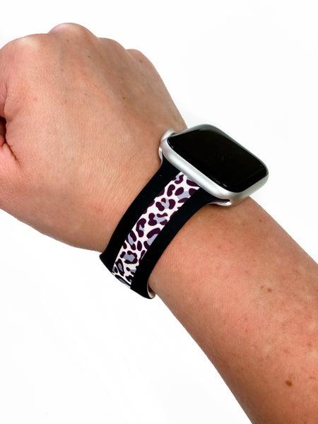 Leopard Stripe Watch Band