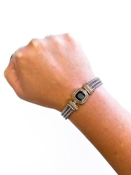 The Stephany Bracelet Black