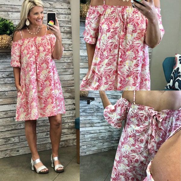 Tropical Wonders Dress *Final Sale*