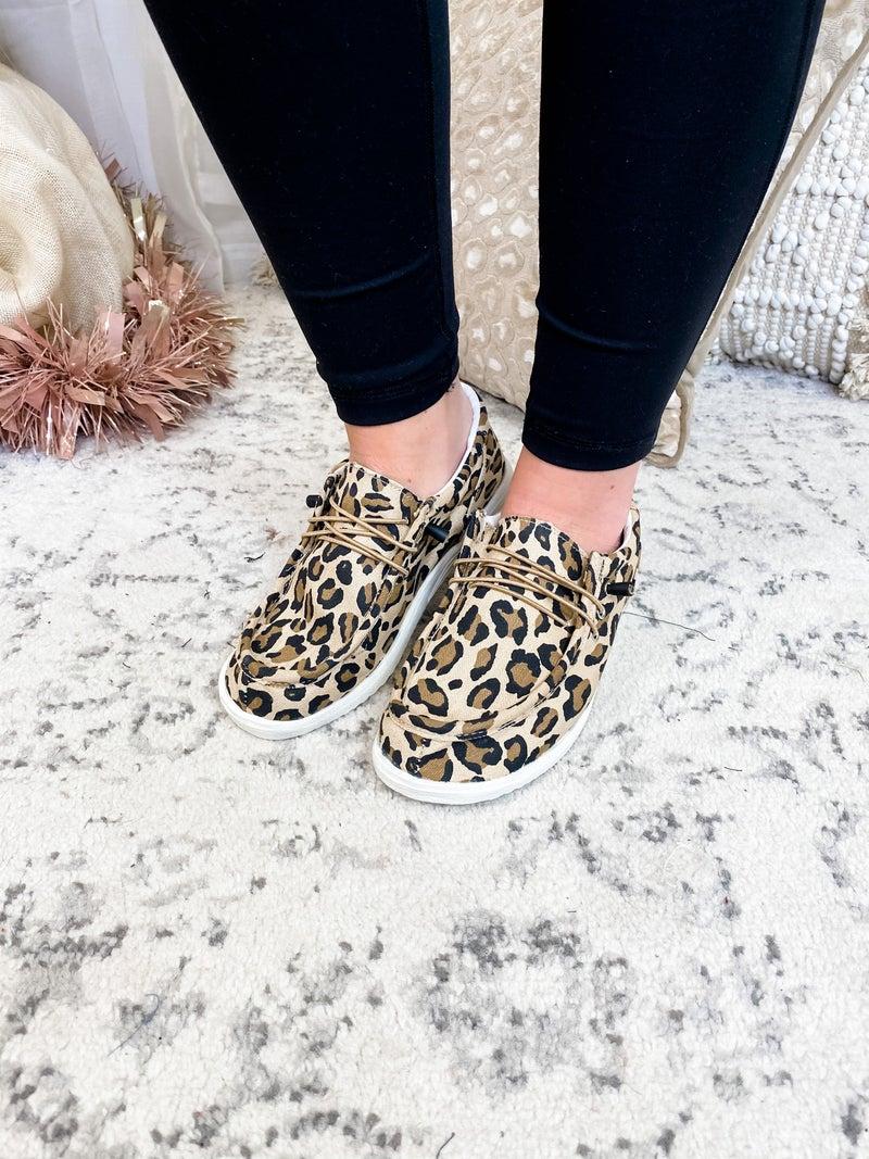 The Tabitha Slip On Leopard