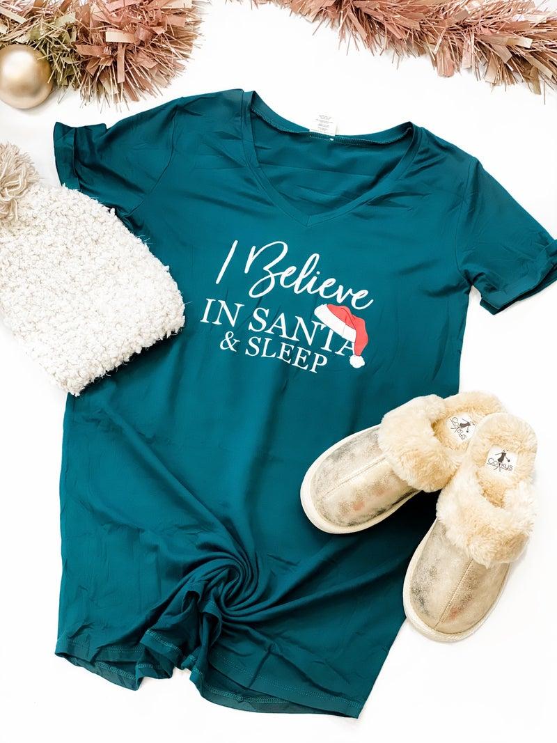 Believe In Santa Sleep Tee