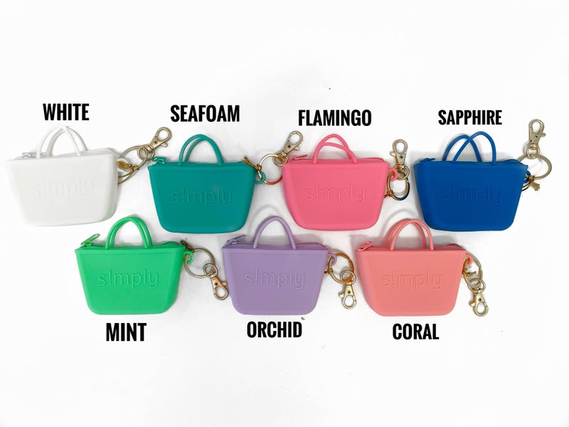 Simply Southern Tote Keychain