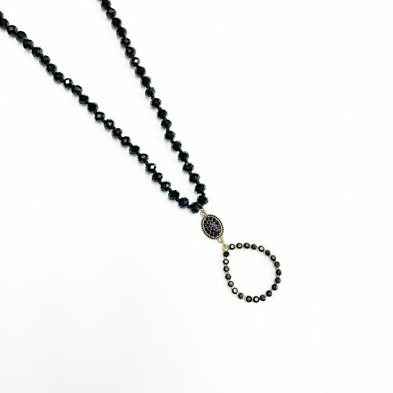 The Garner Necklace Black
