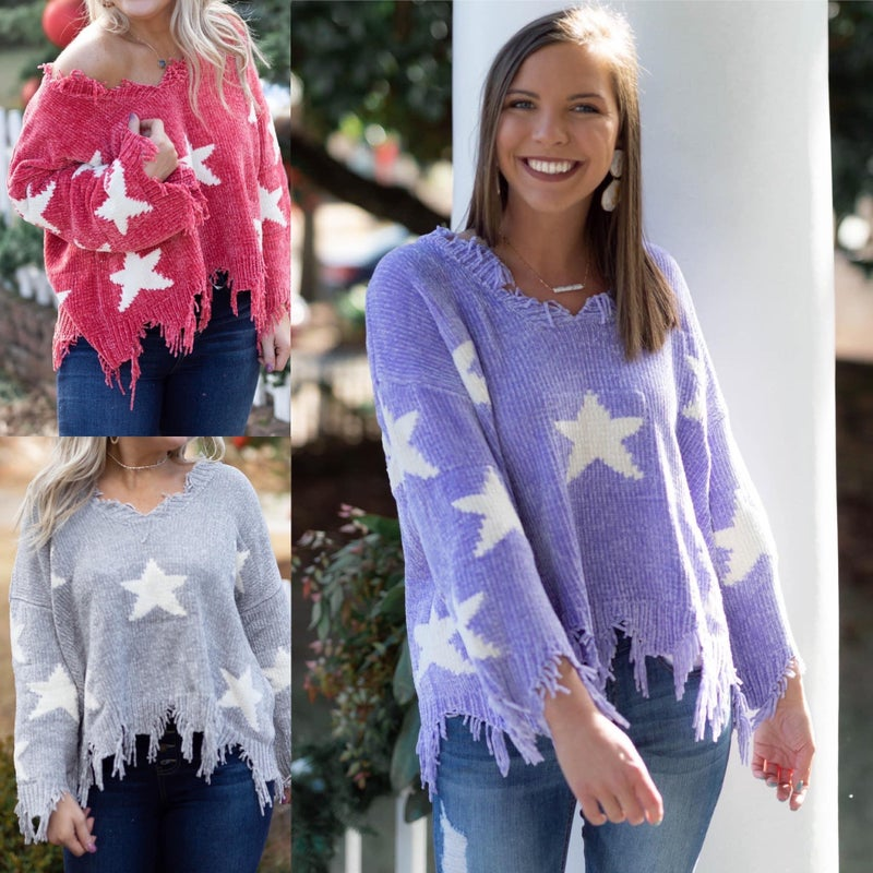 Stars So Bright Sweater *Final Sale*