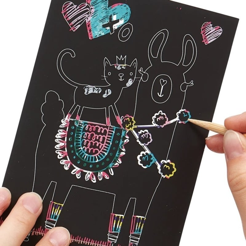 Scratch & Scribble Kit