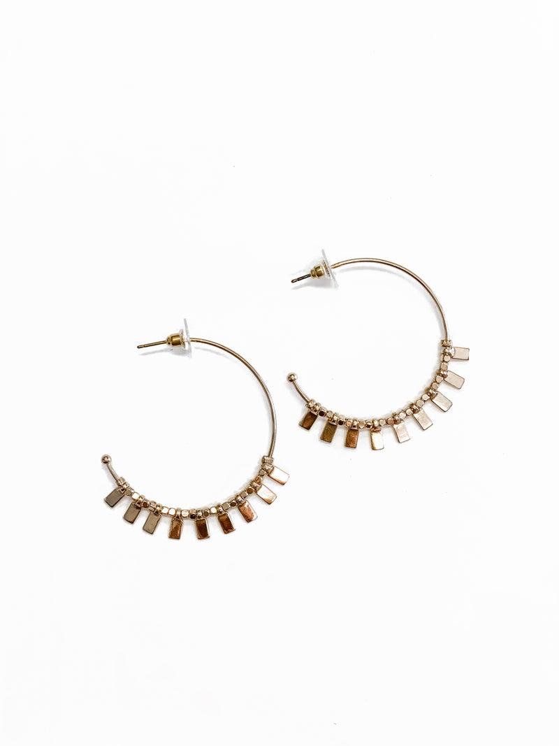 The Kari Earrings Gold