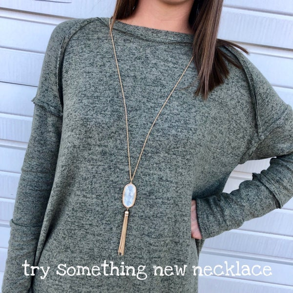 Try Something New Necklace