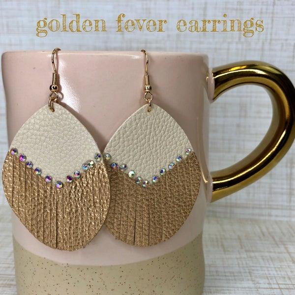 Golden Fever Earrings