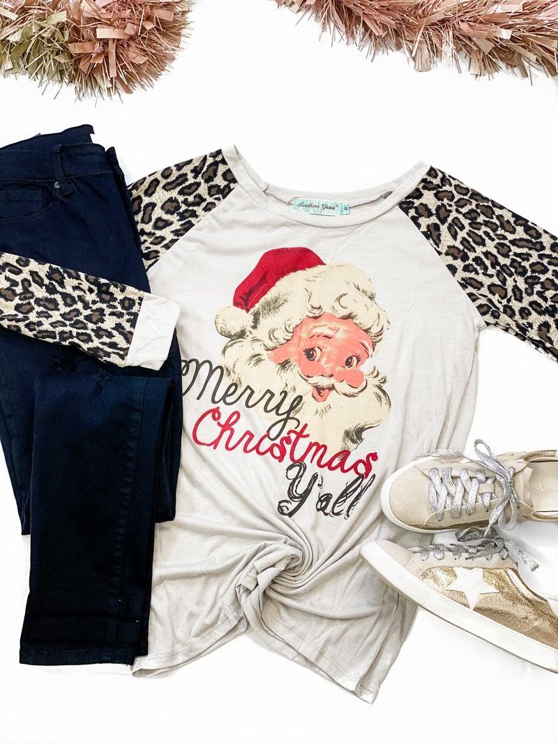 Merry Christmas Santa Tee