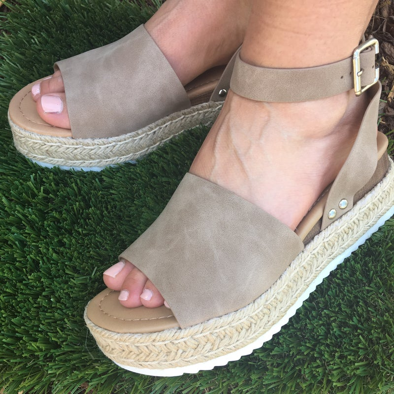 One Step Higher Sandals