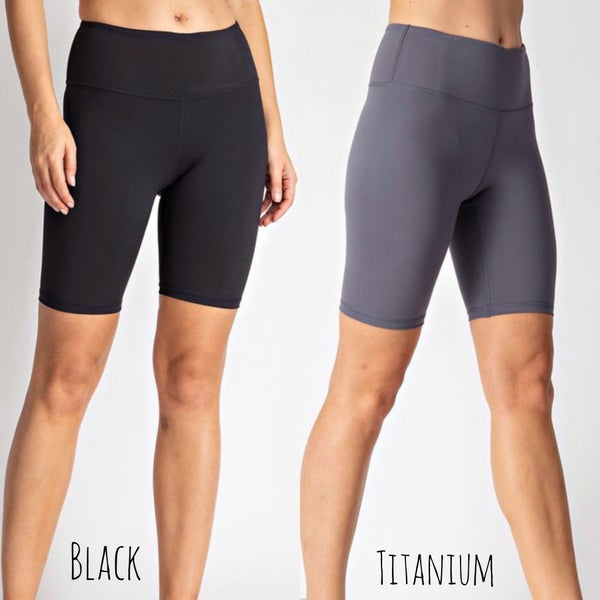 Feeling Like New Biker Shorts *Final Sale*