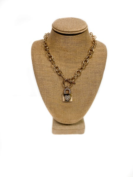 Lock Of Love Necklace