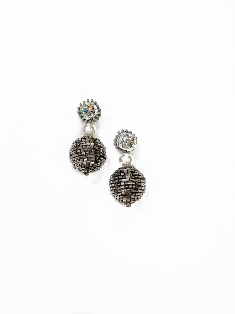 The Sara Earrings Silver