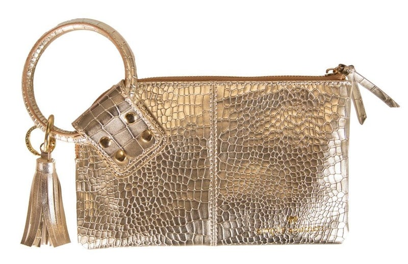 Nashville Brunch Wristlet Gold