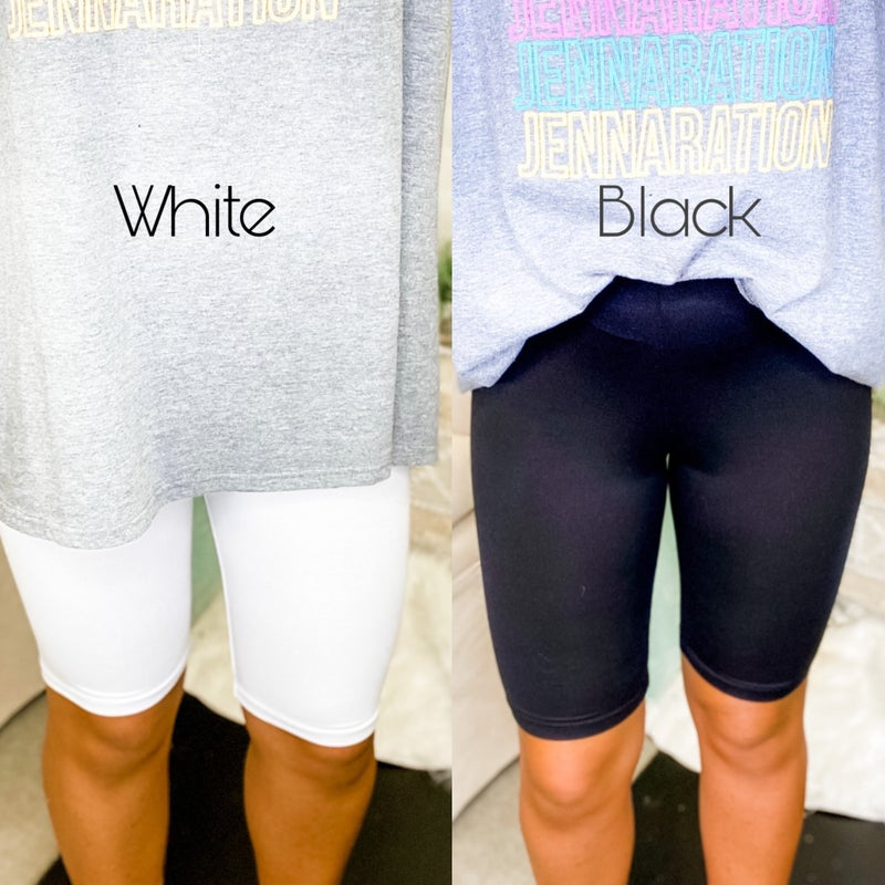 Way To Stand Out Biker Shorts *Final Sale*