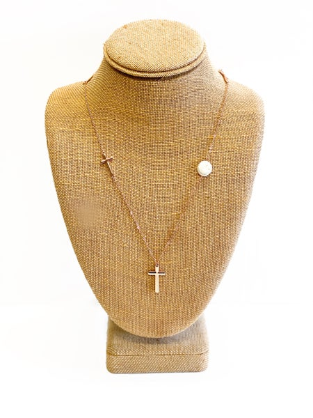 The Vera Necklace Rose Gold