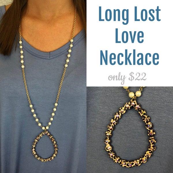 Long Lost Love Necklace FINAL SALE