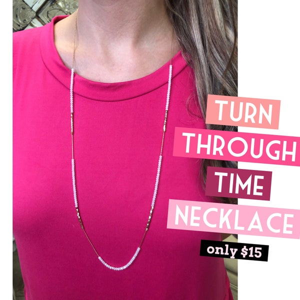 Turn Through Time Necklace