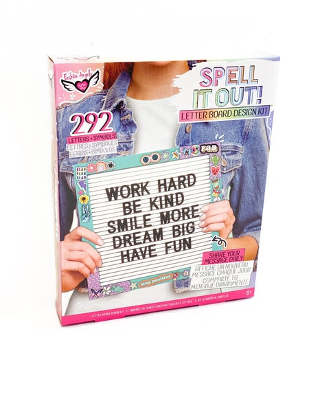 Spell It Out Letter Board Kit